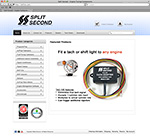 Split Second Web site